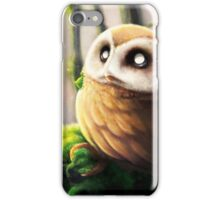 Semi realistic Rowlet  iPhone Case/Skin