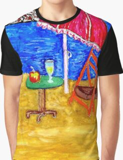 Beach Scene Art 4 Graphic T-Shirt