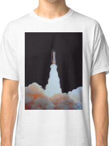 MISSION TO MARS (Flames) Classic T-Shirt