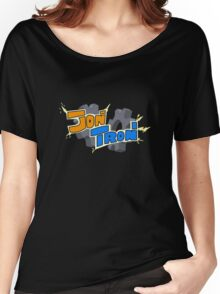 JonTron Custom Logo Women's Relaxed Fit T-Shirt