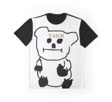 Poorly drawn Tahm Bear Graphic T-Shirt