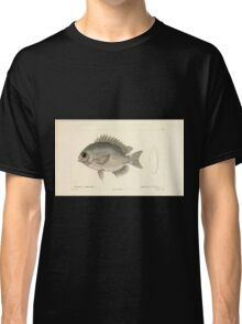 Natural History Fish Histoire naturelle des poissons Georges V1 V2 Cuvier 1849 109 Classic T-Shirt