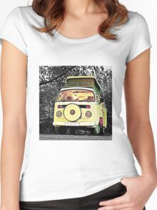 Slow Bus Women's Fitted Scoop T-Shirt