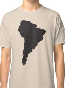 South America simple shape map Classic T-Shirt