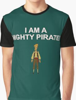 GUYBRUSH THREEPWOOD- I am a mighty pirate!  Graphic T-Shirt