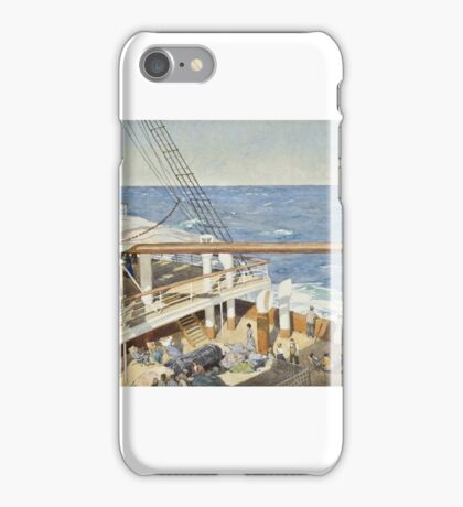 Thomas Jacques Somerscales (Hull )   The emigrants,  iPhone Case/Skin
