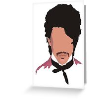 prince Greeting Card