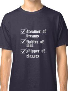 Ronan's a Dreamer (White) Classic T-Shirt