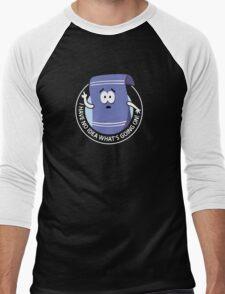 Towelie Men's Baseball ¾ T-Shirt