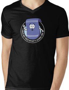Towelie Mens V-Neck T-Shirt