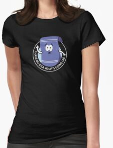 Towelie Womens Fitted T-Shirt