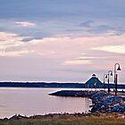 Kentucky Lake Pier - Memorial Day Weekend by Sherry Hallemeier