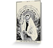 Fig II. - The High Priestess Greeting Card