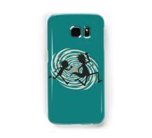 rick n morty runing Samsung Galaxy Case/Skin