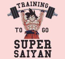 training super saiyan  One Piece - Long Sleeve