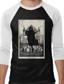 Fig XV - The Devil Men's Baseball ¾ T-Shirt