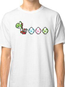 8-bit Yoshi Story  Classic T-Shirt