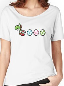 8-bit Yoshi Story  Women's Relaxed Fit T-Shirt
