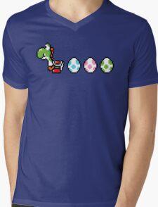8-bit Yoshi Story  Mens V-Neck T-Shirt