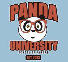 Panda University - Orange 2 Kids Clothes