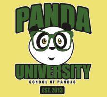 Panda University - Green 2 Kids Clothes