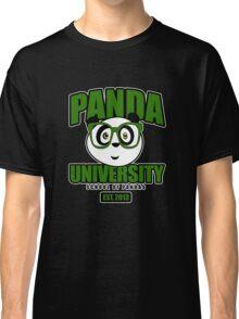 Panda University - Green 2 Classic T-Shirt