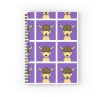 Adventure Dog Spiral Notebook