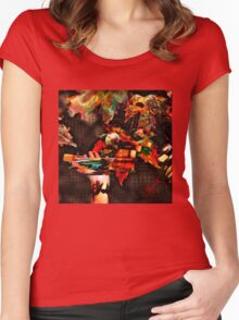 Painted Fall Women's Fitted Scoop T-Shirt