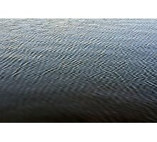 Texture of ripples in the water. Photographic Print