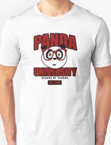 Panda University - Red T-Shirt
