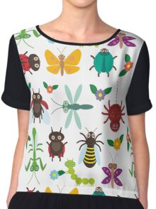 Insects Chiffon Top