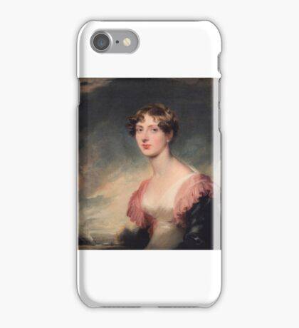 1817 Mary, Countess of Plymouth by Sir Thomas Lawrence iPhone Case/Skin