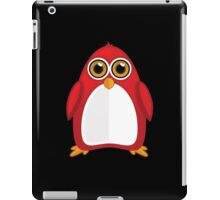 Red Penguin 2 iPad Case/Skin