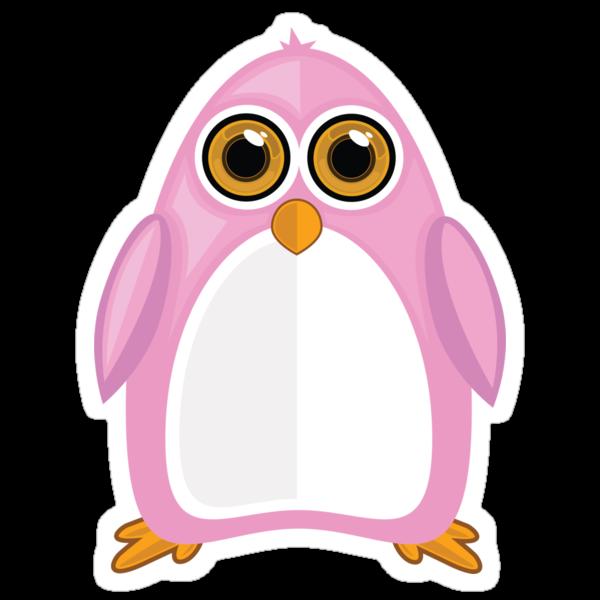 Pink Penguin by Adamzworld