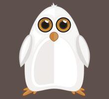 White Penguin One Piece - Short Sleeve