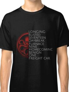 Hydra - Winter Soldier trigger words Classic T-Shirt