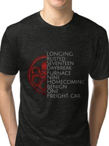 Hydra - Winter Soldier trigger words Tri-blend T-Shirt