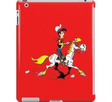 lucky luke iPad Case/Skin