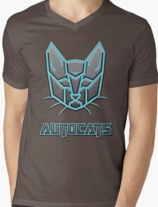 Autocats Transformers Mens V-Neck T-Shirt