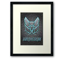 Autocats Transformers Framed Print