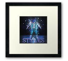 AJ Styles Framed Print