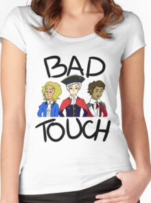 Bad Touch Trio Women's Fitted Scoop T-Shirt