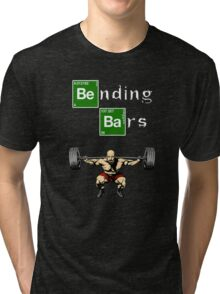 Bending Bars Walter White Gym Motivation Tri-blend T-Shirt