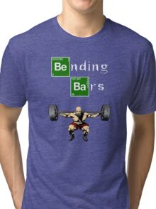 Bending Bars Walter White Gym Motivation Tri-blend T-Shirt