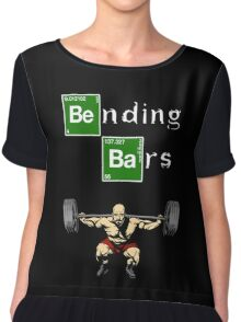 Bending Bars Walter White Gym Motivation Chiffon Top