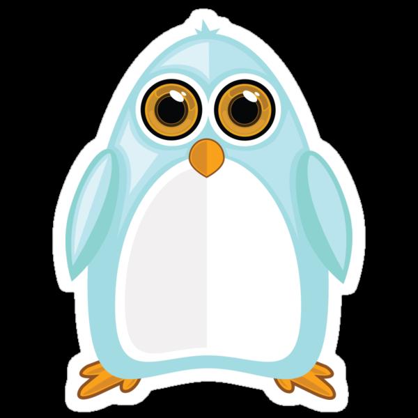 Baby Blue Penguin 2 by Adamzworld