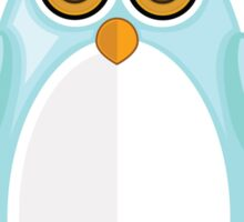 Baby Blue Penguin Sticker