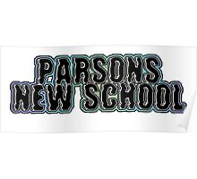 Parsons, New School  Poster