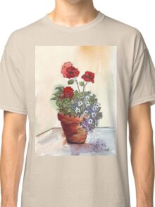 Looking forward to beautiful Geraniums Classic T-Shirt