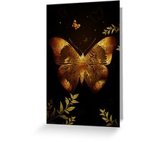 Iron Butterfly Greeting Card